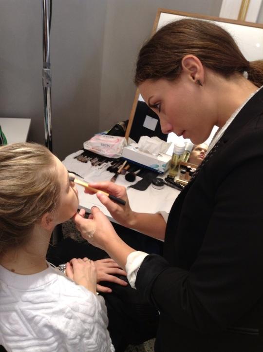 backstage Mila Schon